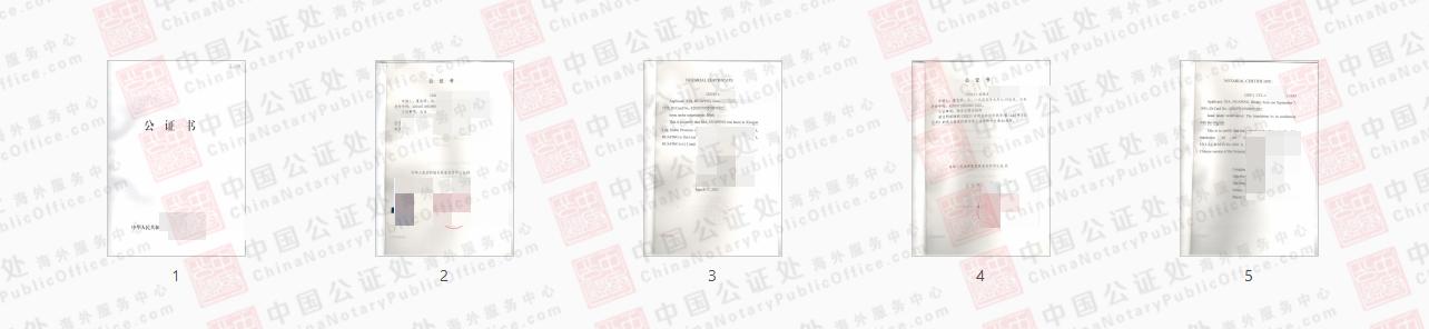 美国办理的双号公证书,和单号公证书有什么区别?,中国公证处海外服务中心